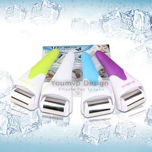 Skin Massage Ice Roller pour le visage et le corps Masser la peau du visage et prévenir les rides Skin cool