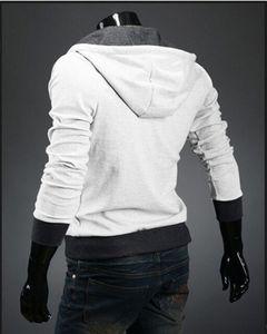 Männer M-6XL Großhandel-Hot Zipper Assassins Größe Hoodie Marke Design Creed Men Sweatshirt Trainingsanzug 2021 Verkauf Ublvd