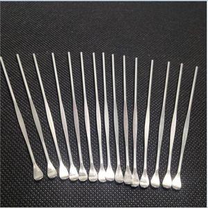 Strumento per tamponare cera per atomizzatore cera in acciaio inox strumento dab per secchiello vaporizzatore erba globo di vetro serbatoio