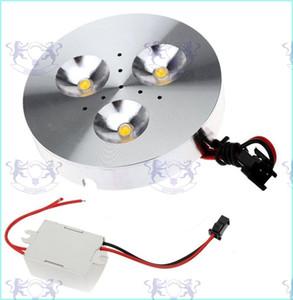 3W LED Puck Cabinet Light LED Spotlight Luces de techo Puck Light 300-330LM LED Downlight Cálido / puro / fresco Blanco Cocina Dormitorio Iluminación
