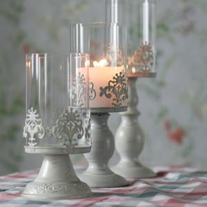 Candle Power Dinner Props Chandeliers de mariage romantique Restauration d'anciennes voies et objets d'ameublement Table Porte-bougies artistiques