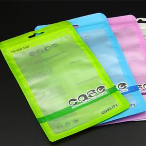 11 * 19cm accesorios Zip lock regalo caja del teléfono móvil del auricular de compras bolso de OPP PP PVC Poli bolsa de envases de plástico de embalaje