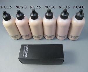 Estudio rostro y cuerpo 120 ml Fundación 4OZ 6 colores: NC15 NC20 NC30 NC35 NC 25 NC40