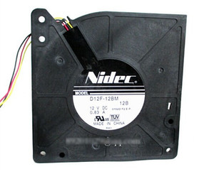 Original Nidec D12F-12BM DC blower with 12V 0.83A 2900rpm 31.8CFM 51dB