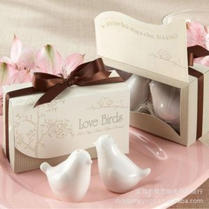 2015 HOT Love bird salt and pepper Shaker wedding favors gifts 2pcs  Lot Wedding Accesories and Best Gifts