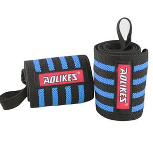 Aolikes Wrist Band Braccialetto regolabile da uomo Brace Wrap Bandage Gym Strap Wrist Band per l'esercizio di sollevamento pesi