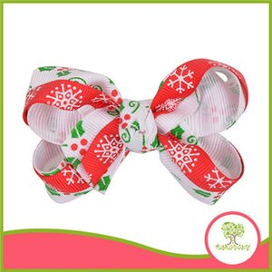 Europe And The United States Children's Original Hair Accessories Bowknot Hairpin Exquisite Manual Hairpin Wholesale Christmas Accessories