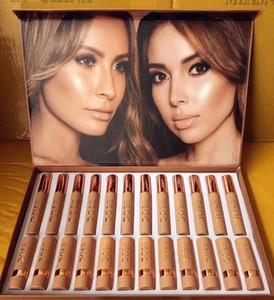 메이크업 세트 SOC의 24PCS는 재고 무료 드롭 배송의 컬렉션 립스틱 립글로스에서 설정 립스틱