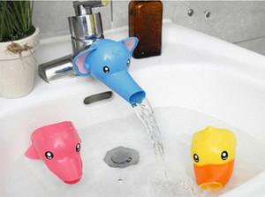 Extensor de torneira de animais ajuda as crianças criança criança mão lavando-se pia Extensor de ferramentas de desenhos animados bonito mão alça para crianças-bebê