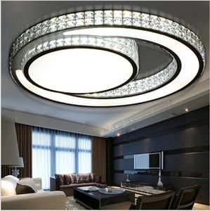 moderne kristall deckenleuchte schlafzimmer leuchtet luminarias de led wohnzimmer licht plafondlamp armaturen unterputz beleuchtung