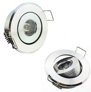 النازل البسيطة NO عكس الضوء راحة LED 1W 3W LED بقعة ضوء مصباح السقف AC110V 220V الشحن المجاني