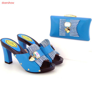 Fashion african Shoes and Bag Matching Set Ladies Shoes and Bag for party,FREE SHIPPING For 8 color ! ZO1-23