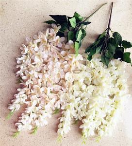 """İpek Tay Orkide Chlorophytum 65cm / Yapay Çiçekler Frezya Bracketplant 5 Düğün Göbeği için Bunch başına Stems 25.59"""" Uzunluk"""