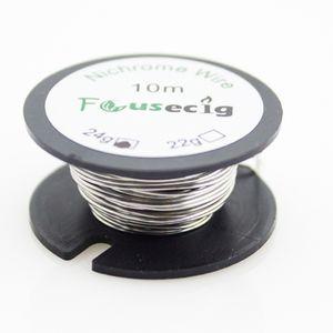 Ni80 wire 10m spool nichrome wire 22 24 26 28 32 35 Gauge di focusecig in stock
