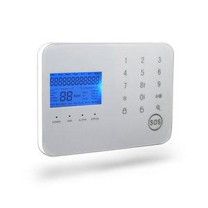 99 zonas sem fio android IOS app toque teclado perimetral segurança alarmas gsm casa com detector de movimento pir