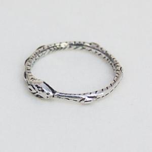 Anello Ouroboros vintage Incantevole anello fatto a mano in argento antico che ristabilisce i modi antichi Spedizione gratuita placcata in argento anticato