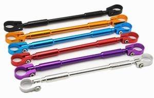 """범용 7/8 """"22mm CNC 알루미늄 오토바이 핸들 바 크로스 바 접이식 유연한 디자인 핸들 바 스티어링 휠 강화"""