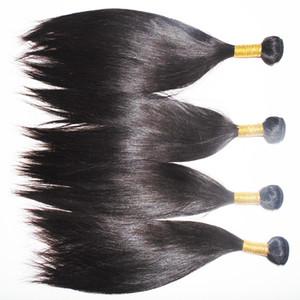 Venta caliente del estilo natural que teje el pelo al por mayor al por mayor 100% de pelo humano indio 3pcs / lot gratis DHL
