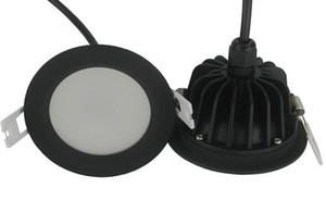 Nouvelle arrivée 10W étanche IP65 Dimmable led downlight 15W gradation LED spot light led plafonnier avec étanche led driver AC85-265V
