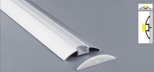 방수 커버 엔드 캡 LED 가동 가능한 지구를위한 DHL / EMS 무료 배송 2M / 개를 30m / 많은 LED 채널 알루미늄 슬롯 프로필