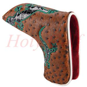 Freies Verschiffen 1PCS neue Gecko-Putter-Abdeckungs-Blatt Headcovers