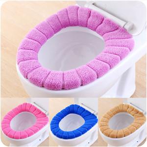 O type weiche toilette closeestool deckel sitz abdeckung toilette badezimmer zubehör home badezimmer warme toilettensitz matte waschbar elastisch