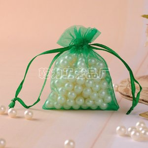 Crepe 100pcs lot Organza Wedding Xmas Party Favor Gift Candy Bags Jewellery pouches Gift Bag Party Wedding Favor Bag 9*12cm