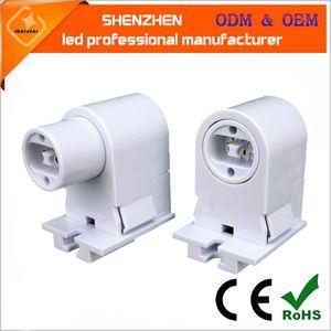 T8 T10 tubo de soporte de la lámpara T12 LED tubo adaptador aprobación alta calidad llevó portalámparas fluorescente R17D