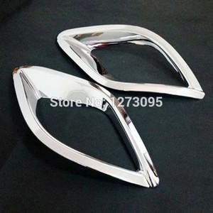 2015 마즈다 CX-5 CX 5 CX5 ABS 크롬 후방 안개등 램프 커버 트림 안개등 커버 외장용 자동차 스타일링 액세서리
