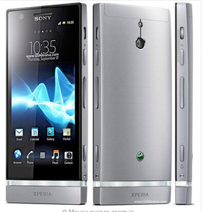 Orijinal Sony Xperia P LT22i LT22 Android 3G GPS Wifi 8MP 1 GB / 16 GB Çift Çekirdekli yenilenmiş cep telefonu