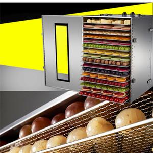 2018 vendita calda di buona qualità 220v elettrico Essiccatore alimentare lavorabile frutta essiccazione in acciaio inox robot da cucina