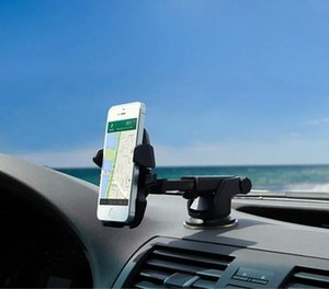 high quality Silicone sucker scalable cell phone holder for car support width 45mm to 115mm cell phone.