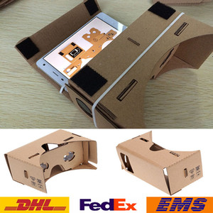 3D Brille DIY Google Pappe Handy Virtual Reality 3D Brille Inoffizielle Pappe Google VR Toolkit 3D Brille 100er WX-G10