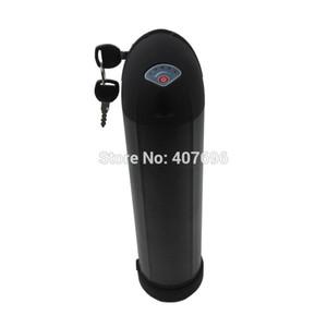 Freies zoll 48 V 13ah Wasserflasche batterie 48 V lithium batterie 13AH fit Bafang BBS02 750 Watt 20A BMS 54,6 V 2A Ladegerät