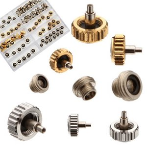 بالجملة، أدنى سعر جديد 60PCS ولي العهد ووتش للنحاس 5.3mm 6.0MM 7.0mm إصلاح الذهب والفضة اكسسوارات تشكيلة أجزاء