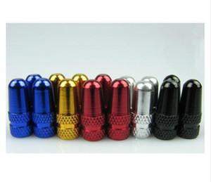 (1000 шт. /лот ) Оптовая алюминиевого сплава пуля дизайн велосипед шины колеса Presta / французский / Sclaverand клапан крышки
