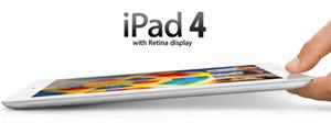 Refurbished iPad 4 Genuine Apple iPad 16GB 32GB 64GB Wifi iPad4 Tablet PC 9.7