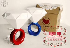 36pcs una borsa LED anello luce coppie romantiche Nightlight San Valentino idee regalo luci di diamante, USB \ lampada con adattatore di alimentazione