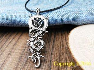 Nuova Collana con pendente di Vichinghi Punk Norse Collana con pendente di Vinerie scandinavi Ringerike