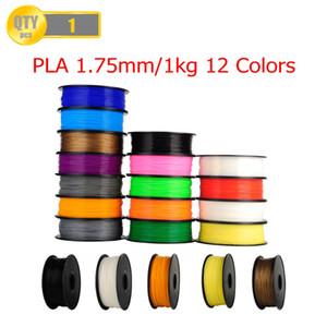 Freeshipping PLA 1,75 millimetri 1Kg / bobina di plastica in gomma Rod materiali di consumo materiali di ricarica per MakerBot / RepRap / UP / Mendel 3D filamenti della stampante