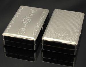 10 * 6.15 * 2.65 CM Novo Bolso fabricante de cigarros de folha de Flandres cigaret rolo Tabaco Caixa Titular Charuto Fumaça de fumar moedor