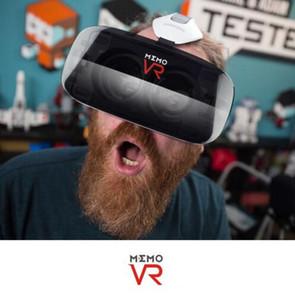 Новое прибытие VR BOX MEMO V6 3D погружения виртуальной реальности гарнитура Google картон для 4.5 - 6.3 смартфон vrbox Bluetooth управления