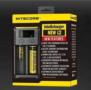 기존 NEW NITECORE i2 Intellicharger 충전기, Li-ion 용 2016 New Ni-MH 18650 14500 대 Nitecore I2 I4 UM10 충전기 무료 배송