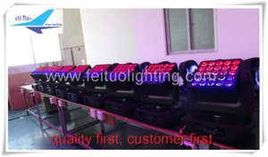 LED Matrix Beam Moving Head 25X12W Quad LED Moving Head LED