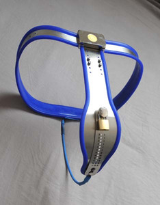 3 color can select Female Fully Adjustable Model-T Stainless Steel Chastity Belt