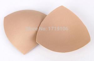 Wholesale-e Cups Bikini Reggiseno Pad Push Up Insert 50pair = 100 pezzi Foam Pads per costume da bagno Accessori imbottitura Beige Bianco D96