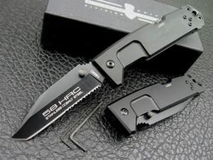 EXTREMA RATIO Fulcrum II T Titanium Тактический складной нож 440C 58HRC Алюминиевая ручка Открытый Охота Выживание Карман Utility EDC Коллекция