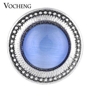 VOCHENG NOOSA 18mm 3 Colors Rhinestone Vintage Interchangeable Button Jewelry Vn-1075