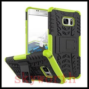Pour iphone X XR XS Max 7 8 Samsung Galaxy Note 8 9 S8 S9 Support robuste en caoutchouc antichoc Hybrid Heavy Duty Case