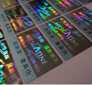 5000 adet / takım! özelleştirilmiş etiket hologram lazer etiket etiket, bitcoin etiket etiket için her etikette benzersiz KODU! ÜCRETSİZ tasarım